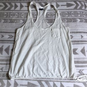 White American Eagle Tank Top